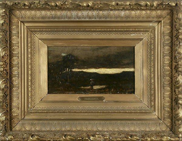 Attributed to: Ralph Blakelock (1847-1919) New York