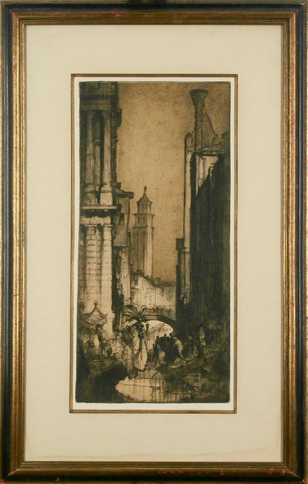 Frank Brangwyn (1856-1956) Dutch/ British