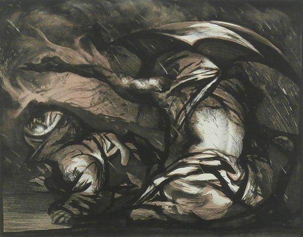 Rico Lebrun (1900-1964) Italian/ Californian