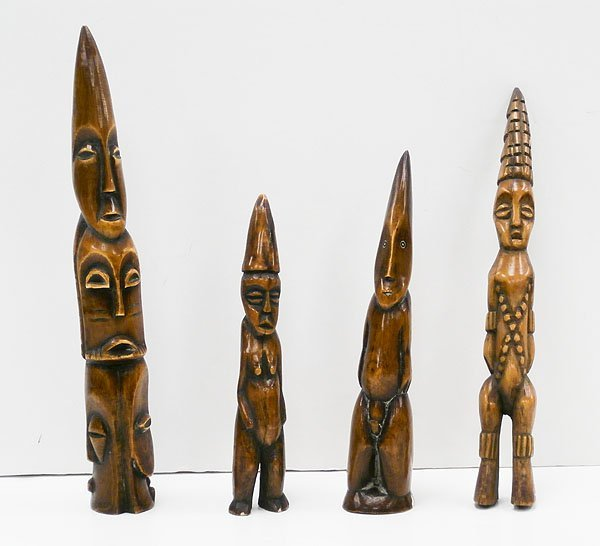African Carvings (four)