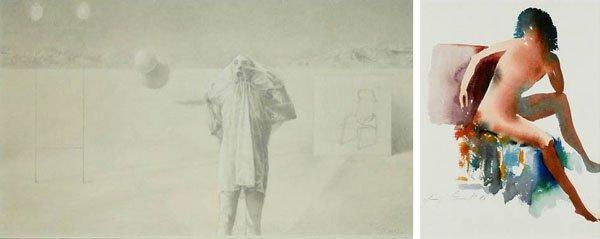Artist Unidentified (two)