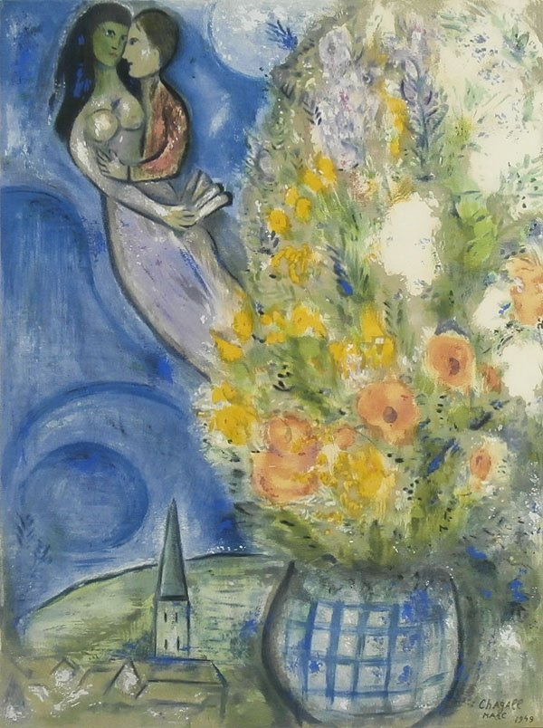 after Marc Chagall (1887-1985) Russian/ French