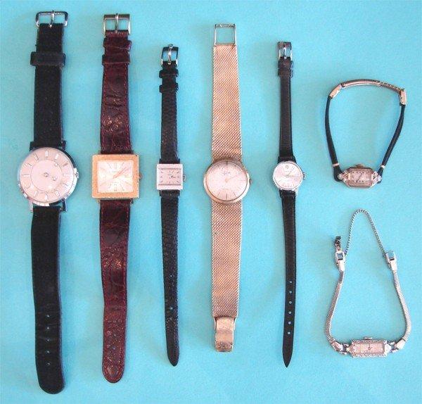 348: Jewelry: Women's Swiss Watches (seven)
