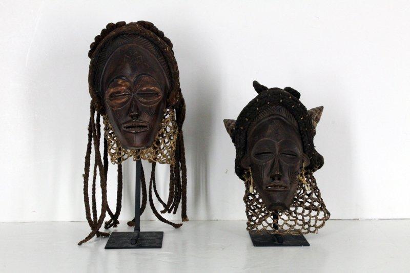 African Art: Chokwe, Angola (two)