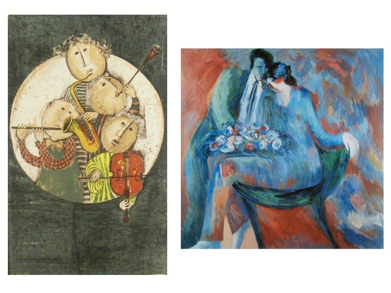 Gabriela Rodo Boulanger (b. 1935) & Barbara Wood (20th