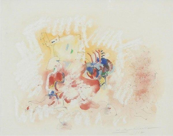 Hans Burkhardt (1904-1994) Swiss Californian