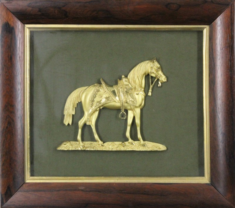 Decorative art: Ormolu Horse