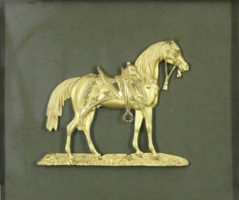 Decorative art: Ormolu Horse - 2