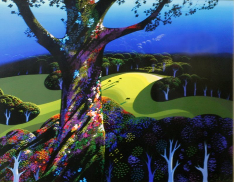 Eyvind Earle (1916-2000) California