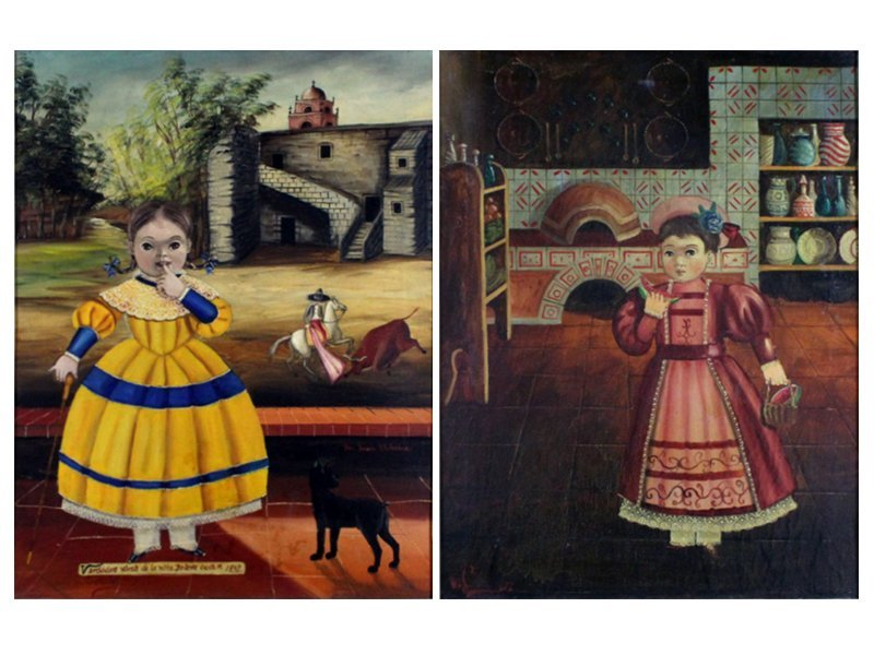 Agapito Labios (1898-1996) Mexican (two)
