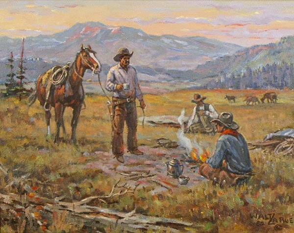 Walt LeRue (1925-2010) Californian - 2