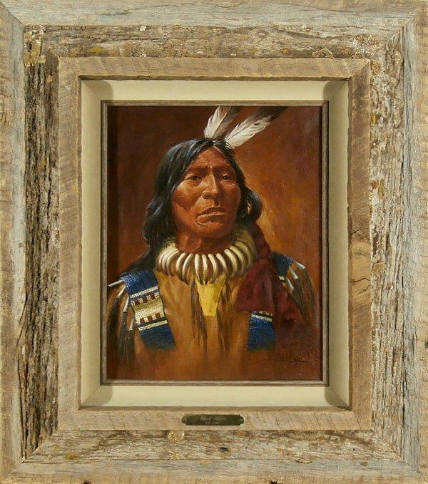 Ted Long (1932-2007) Nebraska/ Montana