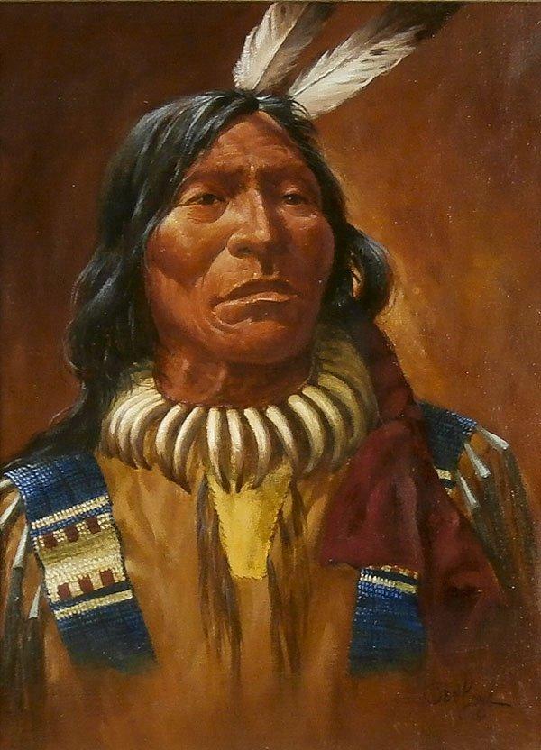 Ted Long (1932-2007) Nebraska/ Montana - 2