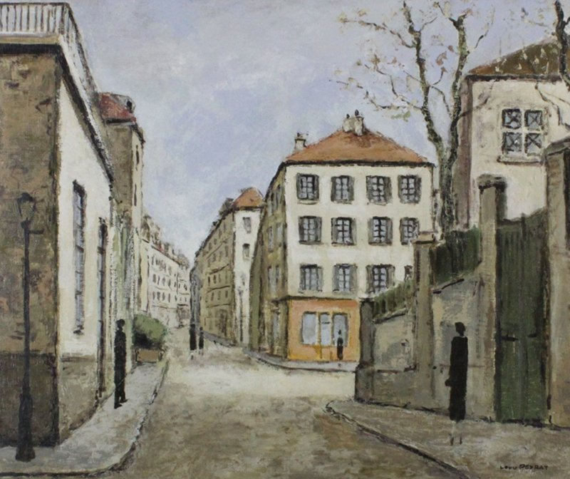 Louis Peyrat (1911-1999) French - 2