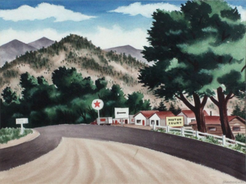 James Sherman (1906-1989) Kansas City/New York