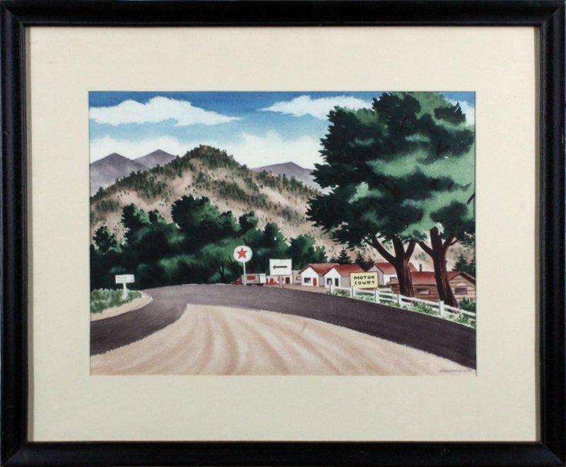James Sherman (1906-1989) Kansas City/New York - 2