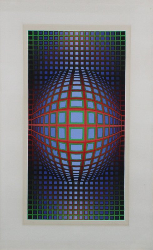 Victor Vasarely (1906-1997) Hungarian - 2