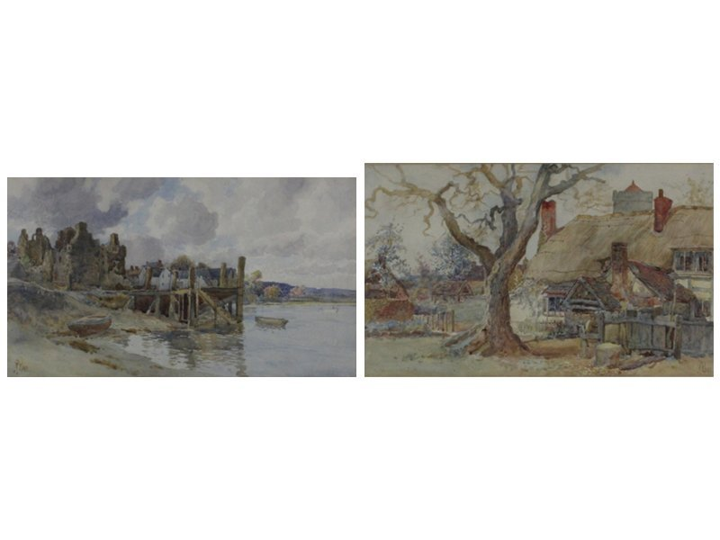 Richard Wane (1852-1904) British (two)