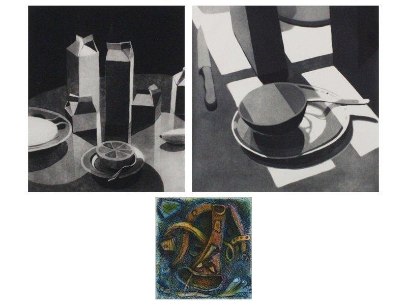 Linda Plotkin (b. 1938) New York (2) & Elizabeth Murray