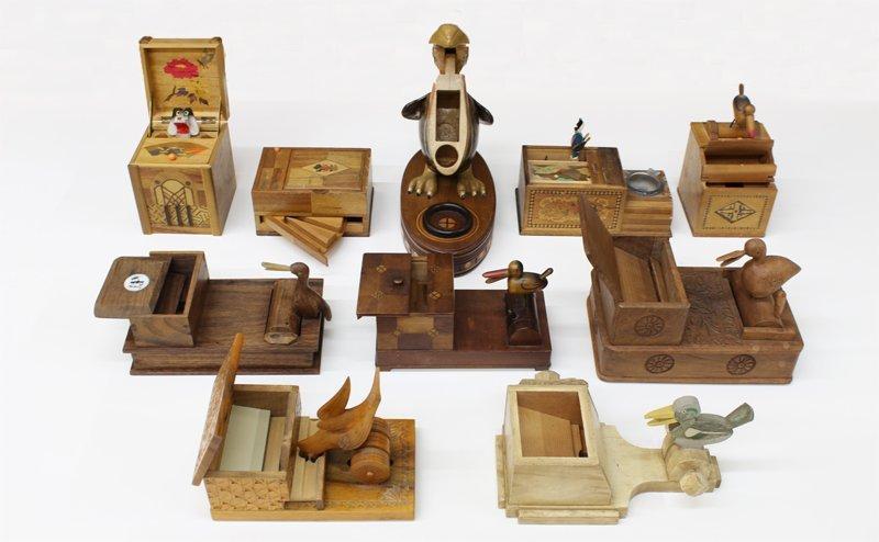 Vintage Wooden Cigarette Boxes (ten) - 2