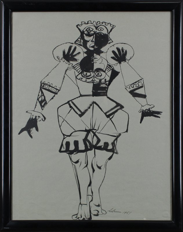 Rico Lebrun (1900-1964) Californian