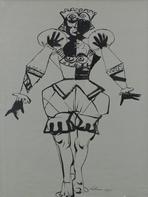 Rico Lebrun (1900-1964) Californian - 2