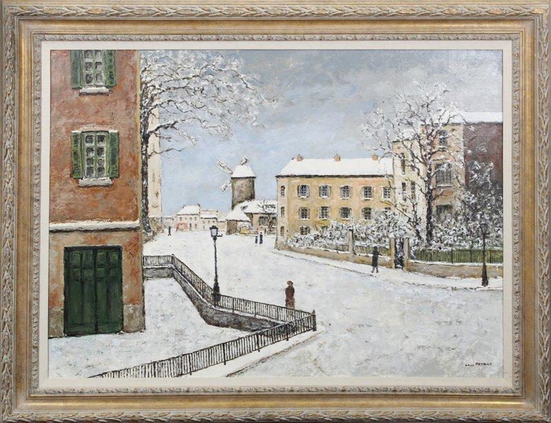 Louis Peyrat (1911-1999) French