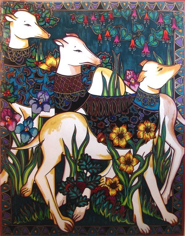 1: Mara Abboud (20th Century) American