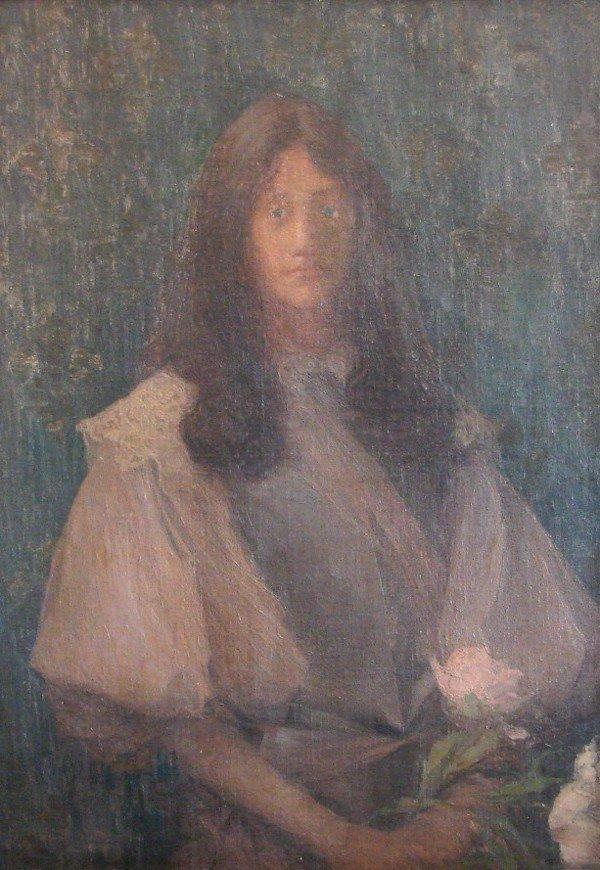 3: Edmund François Aman-Jean (1860-1936) French