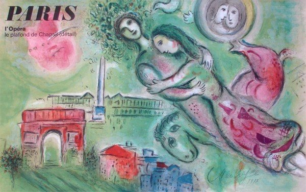 91: after Marc Chagall (1887-1985) French
