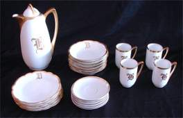 323: Rosenthal Porcelain Coffee Service (twenty-two)
