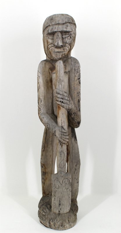 African American carving (19th Century)