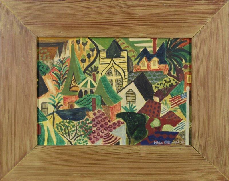 Ella Wharton Alluisi (1912-1996) Californian