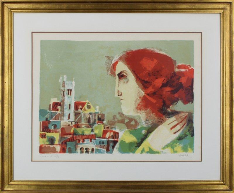 Sunol Alvar (b. 1937) Spanish