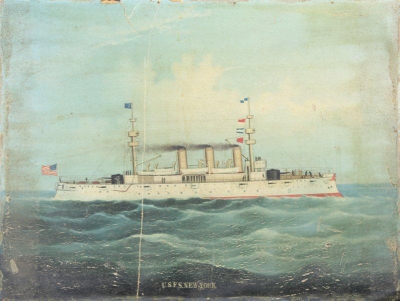 Antique Nautical Art