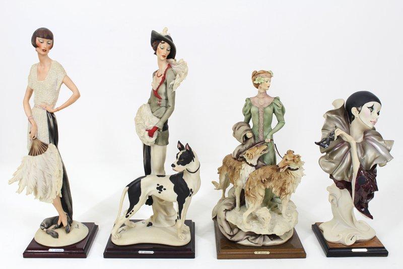 Giuseppe Armani figurines (four)