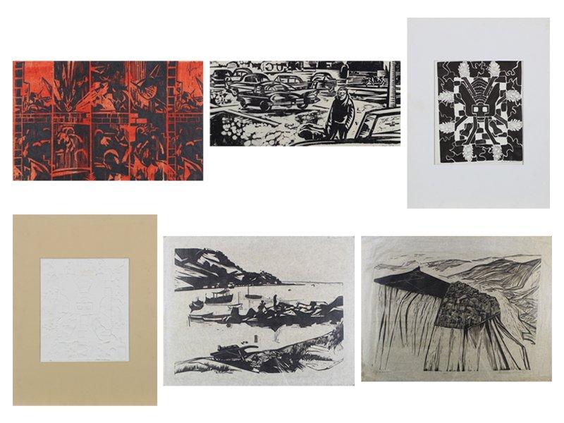 1960's Artist Unidentified (2); Robert M. Johnson (2)