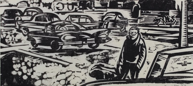 1960's Artist Unidentified (2); Robert M. Johnson (2) - 3