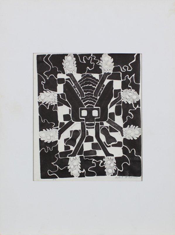1960's Artist Unidentified (2); Robert M. Johnson (2) - 4