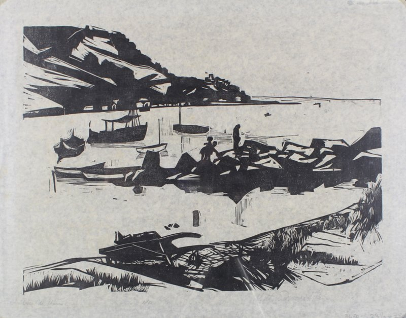 1960's Artist Unidentified (2); Robert M. Johnson (2) - 6
