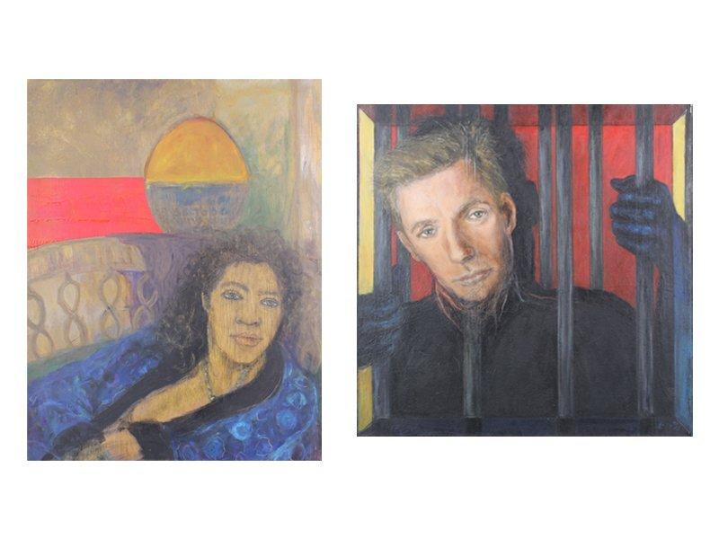 Artist Unidentified (20th Century) (two)