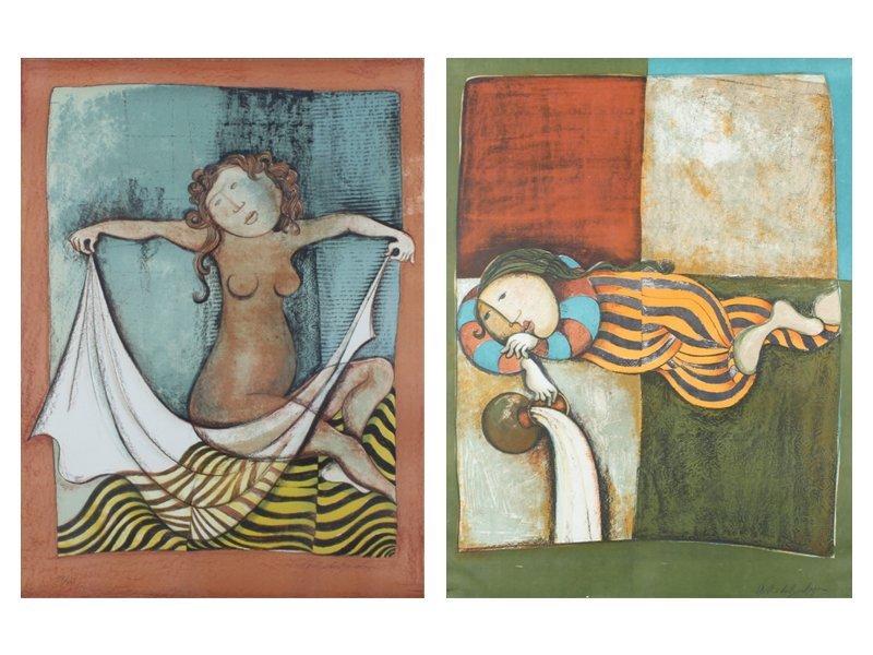 Gabriela Rodo Boulanger (b. 1935) Bolivian (two)