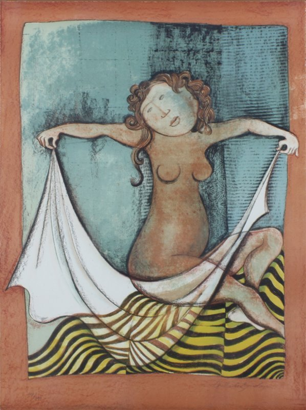 Gabriela Rodo Boulanger (b. 1935) Bolivian (two) - 2