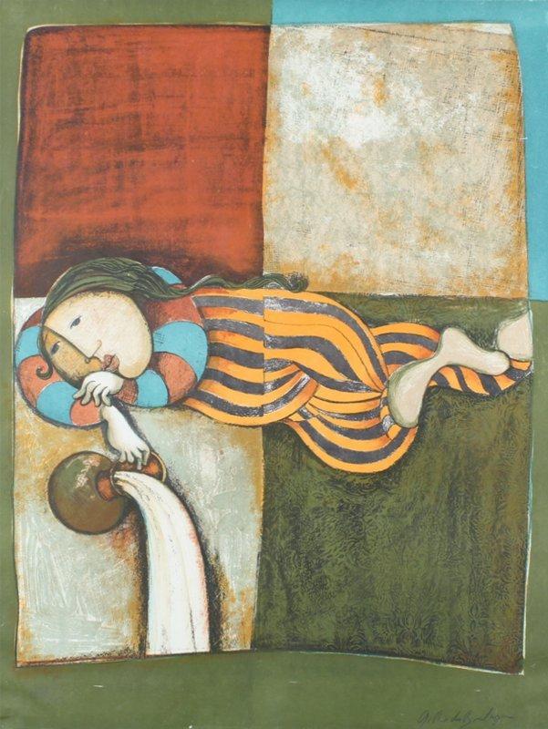 Gabriela Rodo Boulanger (b. 1935) Bolivian (two) - 3