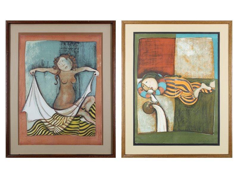 Gabriela Rodo Boulanger (b. 1935) Bolivian (two) - 4
