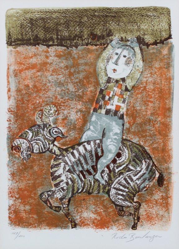Gabriela Rodo Boulanger (b. 1935) Bolivian (three) - 3