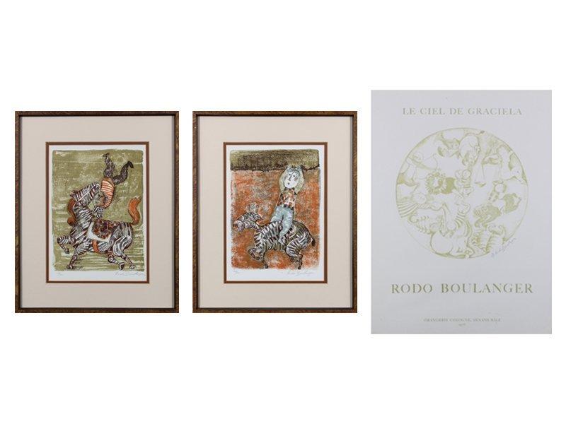 Gabriela Rodo Boulanger (b. 1935) Bolivian (three) - 5