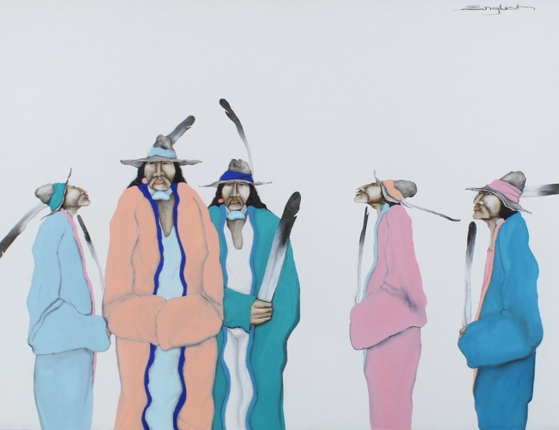 Sam English (b. 1943) New Mexico/ Native American