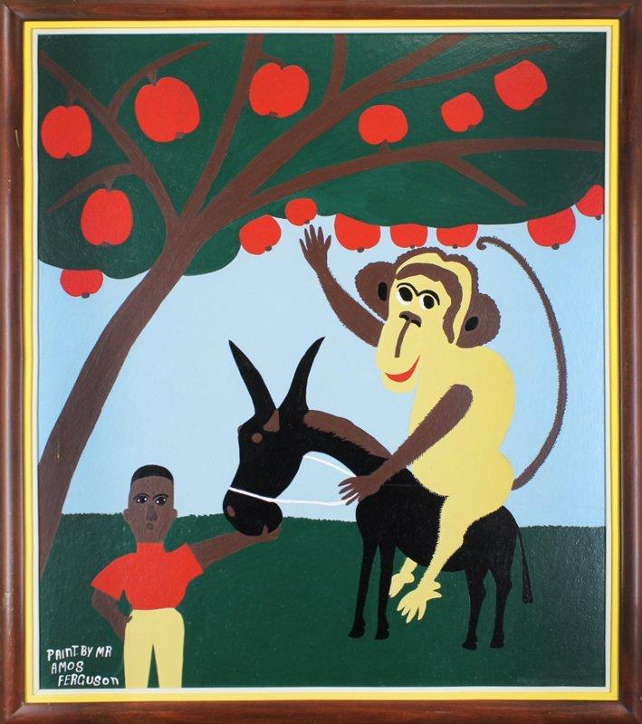 Amos Ferguson (1920-2009) Outsider artist Bahamas