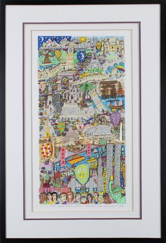 James Rizzi (1950-2011) New York - 2